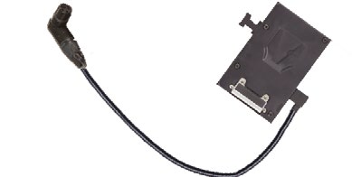 ASTRA 1X1 V MOUNT BATTERY PLATE WITH CABLE
